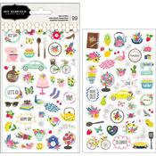 My Bright Life Mini Stickers - Pebbles