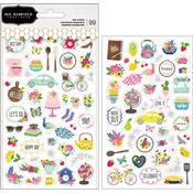 My Bright Life Mini Stickers - Pebbles - PRE ORDER