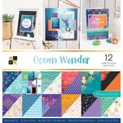 "Ocean Wonder - DCWV Double-Sided Cardstock Stack 12""X12"" 36/Pkg"