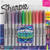 Sharpie Cosmic Color Fine Point Markers 12/Pkg