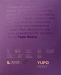 """White 144lb - Yupo Heavy Pad 11""""X14"""""""