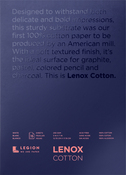 "White 90lb - Lenox Paper Pad 5""X7"" 15 Sheets/Pkg"