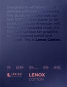 "White 90lb - Lenox Paper Pad 9""X12"" 15 Sheets/Pkg"