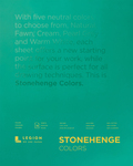 "Multi Color 90lb - Stonehenge Paper Pad 11""X14"" 15 Sheets/Pkg"