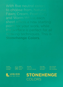 "Multi Color 90lb - Stonehenge Paper Pad 5""X7"" 15 Sheets/Pkg"