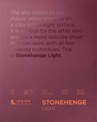 """White - Stonehenge Paper Pad 11""""X14"""" 30 Sheets/Pkg"""