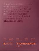 """White - Stonehenge Paper Pad 9""""X12"""" 30 Sheets/Pkg"""