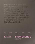 """Kraft 90lb - Stonehenge Paper Pad 11""""X14"""" 15 Sheets/Pkg"""