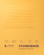 "Warm White 90lb - Stonehenge Paper Pad 11""X14"" 15 Sheets/Pkg"