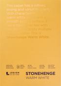 "Warm White 90lb - Stonehenge Paper Pad 5""X7"" 15 Sheets/Pkg"