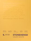 "Warm White 90lb - Stonehenge Paper Pad 9""X12"" 15 Sheets/Pkg"