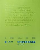 "White 90lb - Stonehenge Paper Pad 11""X14"" 15 Sheets/Pkg"