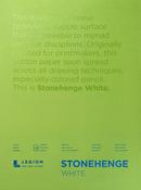 "White 90lb - Stonehenge Paper Pad 18""X24"" 15 Sheets/Pkg"
