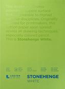 "White 90lb - Stonehenge Paper Pad 5""X7"" 15 Sheets/Pkg"