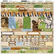 Combo Stickers - Jungle Life - Bo Bunny