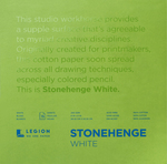 "White 90lb - Stonehenge Paper Pad 8""X8"" 15 Sheets/Pkg"