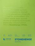"White 90lb - Stonehenge Paper Pad 9""X12"" 15 Sheets/Pkg"