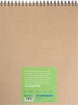 """White 90lb - Stonehenge Spiral Paper Pad 11""""X14"""" 32 Sheets/Pkg"""