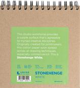 """White 90lb - Stonehenge Spiral Paper Pad 7""""X7"""""""