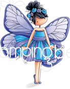 Blanche The Butterfly - Stamping Bella Cling Stamps