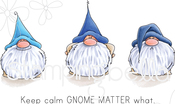 Gnomes Have Feelings Too - Stamping Bella Cling Stamps
