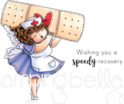 Edna To The Rescue - Stamping Bella Cling Stamps
