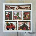 Christmas - Foundations Decor Shadow Box Kit