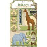 Layered Chipboard Stickers - Jungle Life - Bo Bunny