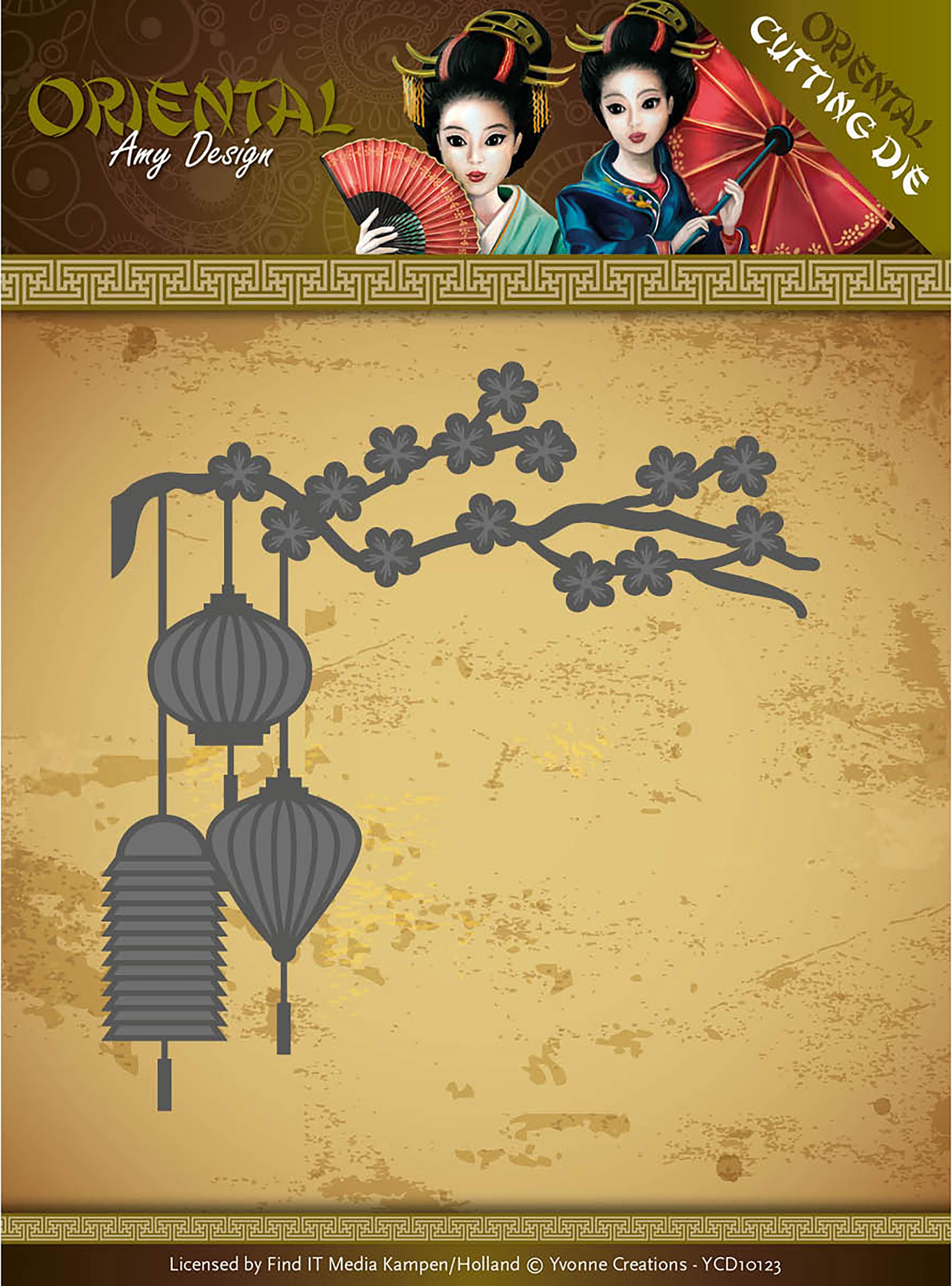 Chinese Lantern - Find It Trading Amy Design Oriental Die