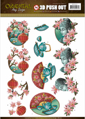 Oriental Culture - Find It Amy Design Oriental Punchout Sheet