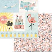 Dreamy Paper - Escape to Paradise - Bo Bunny