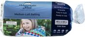 "Crib Size 45""X60"" FOB: MI - Mountain Mist Wool Blend 80% Wool 20% Polyester Batting"