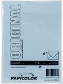 Light Blue - Papicolor A6 Envelopes 6/Pkg