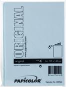 Light Blue - Papicolor A6 Folded Cards 6/Pkg