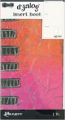Agenda - Dyan Reaveley's Dylusions Dyalog Insert Book