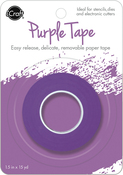 "iCraft Removable Purple Tape 1.5""X15yd Roll"