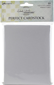 """Grey Cards - Wendy Vecchi Perfect Cardstock 4.25""""X5.5"""" 10/Pkg"""