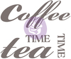 Coffee Tea 18 X11.3  - Prima Re-Design Decor Colored Transfer Explore the possibilities of transforming your home with these detailed transfers. Use on walls, furniture, wood, doors, and many more. The possibilities are endless. This 2.5x13.25x2.5 inch package contains one colored transfer. Comes in a variety of designs. Each sold separately. Imported.