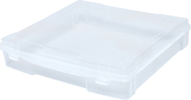 "We R Craft & Photo Translucent Plastic Storage - 12""X12"" Case"
