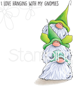 Gnome Pile - Stamping Bella Cling Stamps