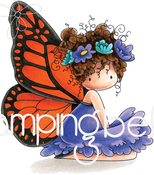 Bess The Butterfly - Stamping Bella Cling Stamps