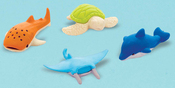 Sea Animal Erasers - Party Favors 12/Pkg