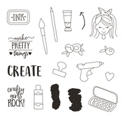 Create It Stamps - Simple Stories