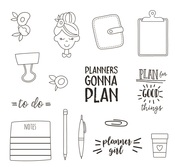 Plan It Stamps - Simple Stories