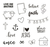 Faith Stamps - Simple Stories