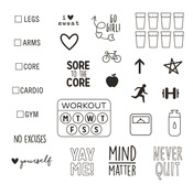 Work It Stamps - Simple Stories - PRE ORDER