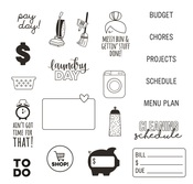 Home Sweet Home Stamps - Simple Stories - PRE ORDER