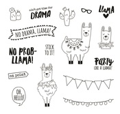 No Prob-Llama Stamps - Simple Stories