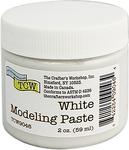White - Crafter's Workshop Modeling Paste 2oz