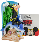 Goofy & Dolphin - Disney Mickey Mouse Aquarium Ornament